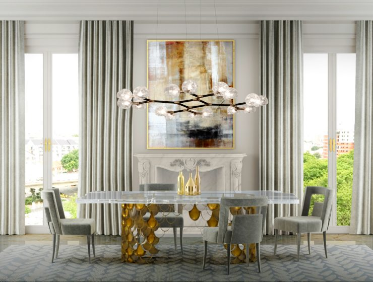 Meet KOI: A Unique Dining Table Design by Brabbu | Looking for an exquisite dining table for your dining room set? We have incredible ideas for you! #diningroom #diningtables #diningchairs #interiordesign #homedecor