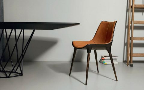 The Incredible Langham Dining Chair For Your Design Project | If you're looking for a mid-century inspired dining chair we got the right one for you! #diningroom #diningchairs #interiordesign #homedecor #diningarea
