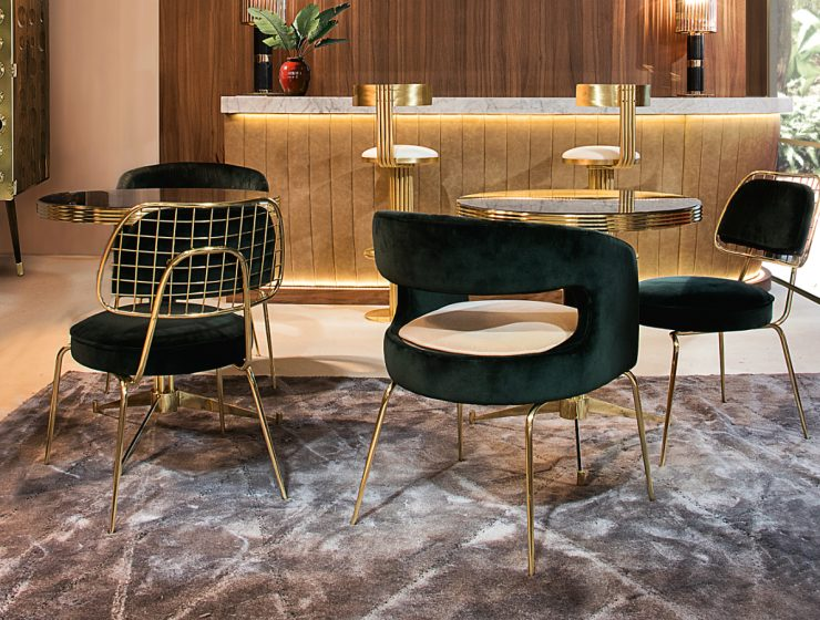 Top 5 Exquisite Dining Chairs by Essential Home | It can be on the sleek lines of a futuristic chair, retro ads that defined a generation, classic and iconic movie stars and heartbreakers from the 60's, you name it.#diningchairs #diningroom #diningtable #interiordesign #homedecor
