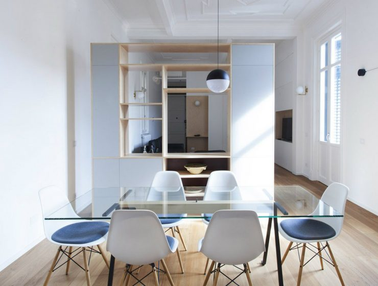 From Sicilian Apartment to an Open-plan Space by Pietro Airoldi