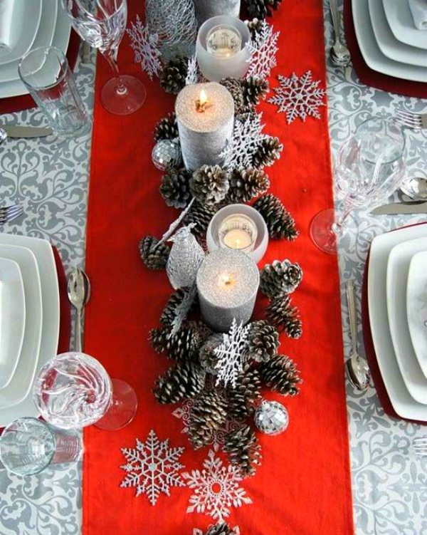 Get Your Dining Table Ready For Christmas Season | The countdown for Christmas is here! There are only 20 days left to the magical season and we bring to you the best ideas for you to decor your dining room. #christmas #christmasdecor #homedecor #diningroom #diningtable  Get Your Dining Table Ready For Christmas Season d4f3bd30d0e613e33155c95cf1d6db06