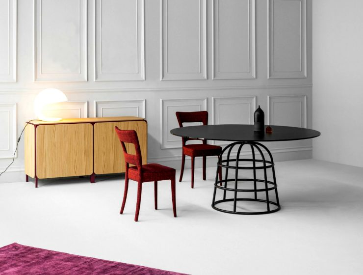 The Unique Dining Table With a Wire Metal Base featured 1 740x560