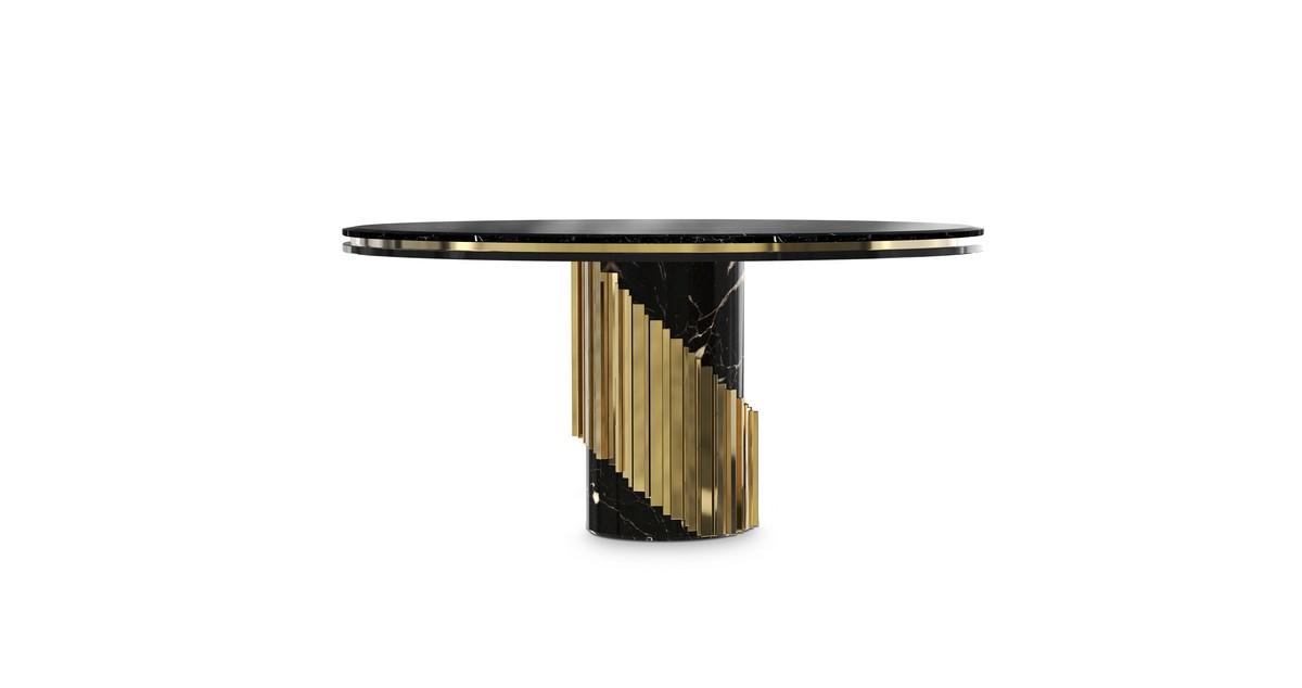 LUXURY DÉCOR IDEAS FOR THE LIVING ROOM  Luxury Décor Ideas for the Living Room littus dining table 01