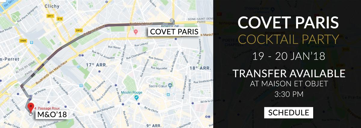 Mapa_Paris  The Most Powerful Design Experience is in Maison et Objet 2018 Mapa Paris