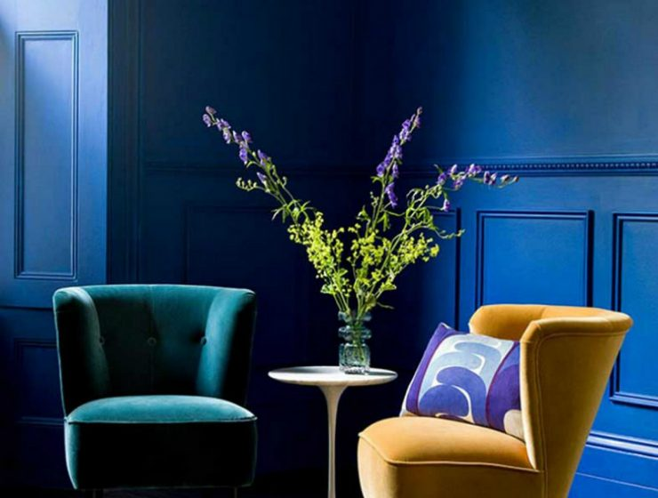 Top 5 Modern Velvet Chairs For Your Home  Top 5 Modern Velvet Chairs For Your Home 10 Charming Velvet Modern Chairs You Will Not Resist 2 740x560