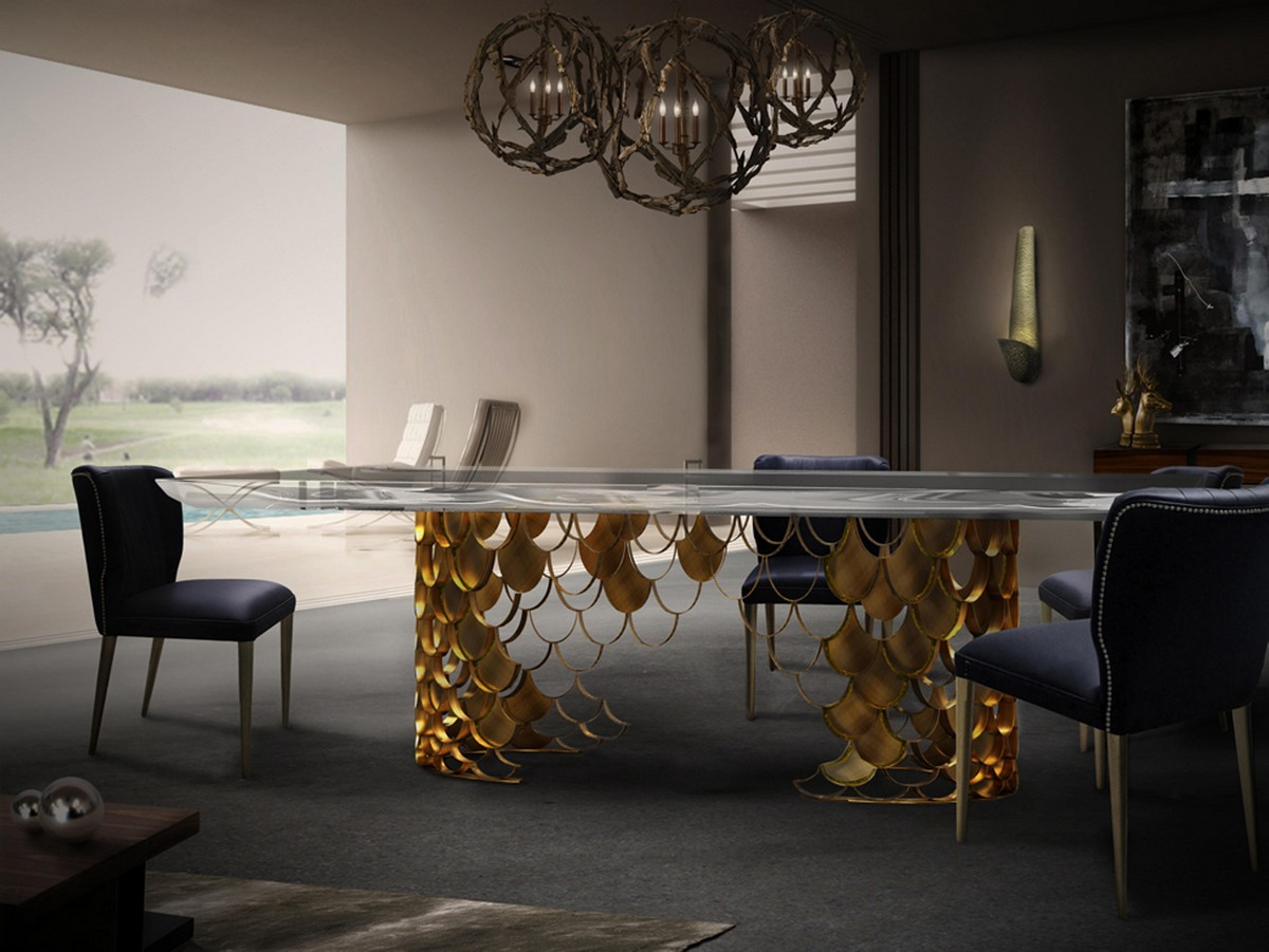 The mysterious Koi Dynasty  The Mysterious Koi Dynasty And Its Hidden Pleasures koi dining table ii ambience b