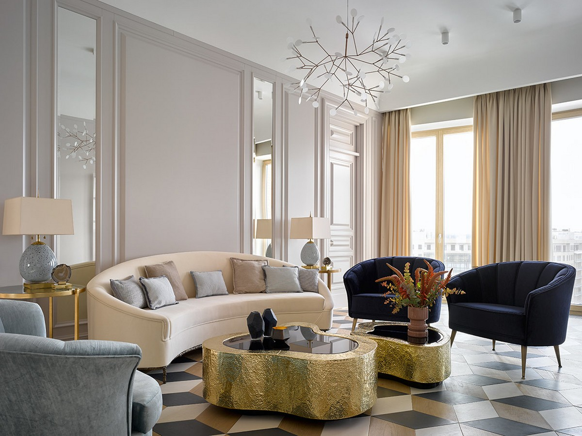 Some Luxurious Projects That Will Blow Your Mind  Some Luxurious Projects That Will Blow Your Mind Ekaterina Lamashkova St Petersburg living room architecture design projects boca do lobo 1