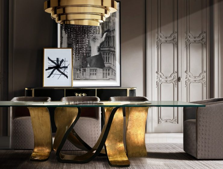 The Ribbon Table: A Rhythm To Any Dining Room