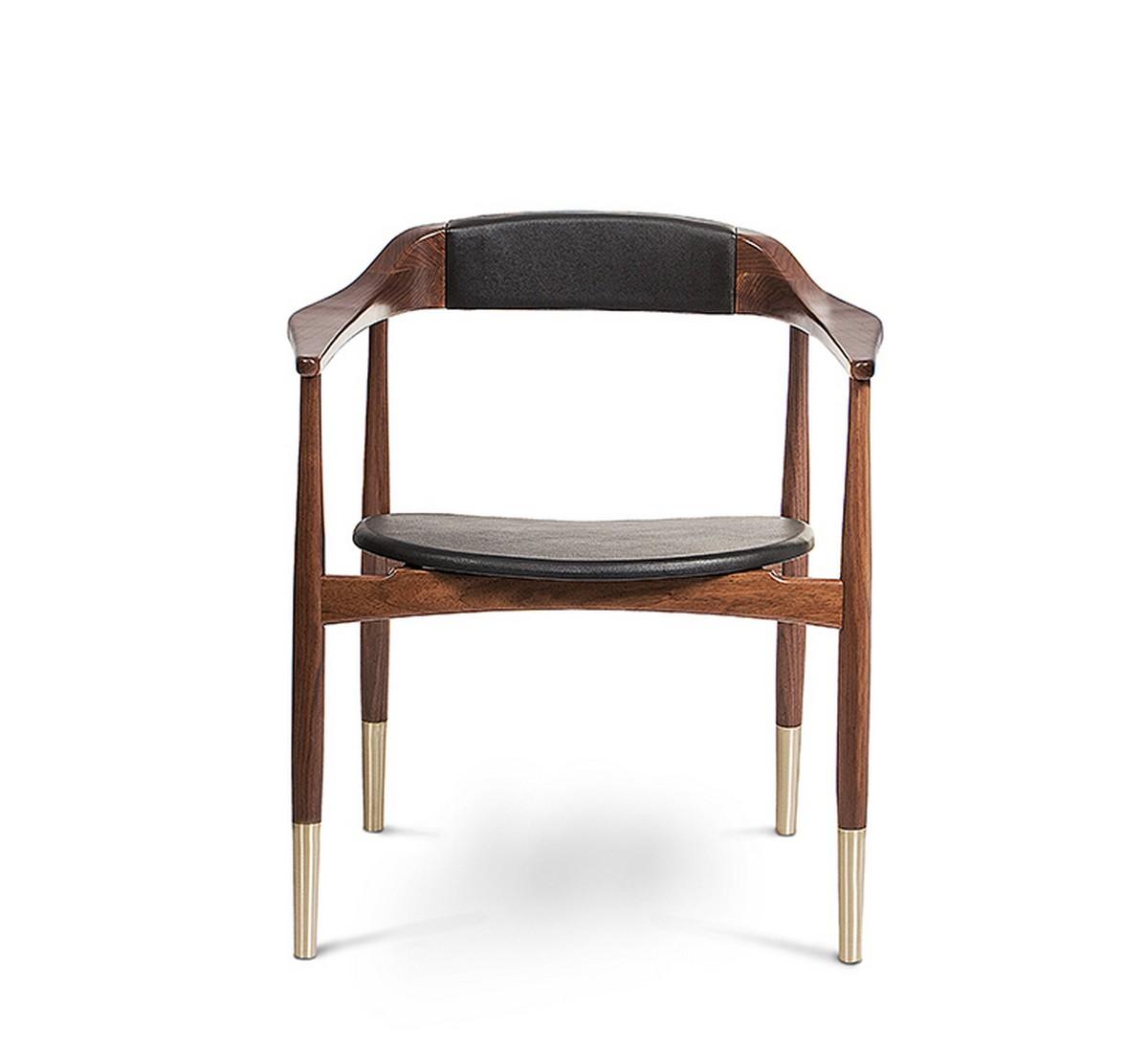 A Bit Classic, A Bit Modern: Perry Dining Chair By Essential Home dining chair A Bit Classic, A Bit Modern: Perry Dining Chair By Essential Home 1 10