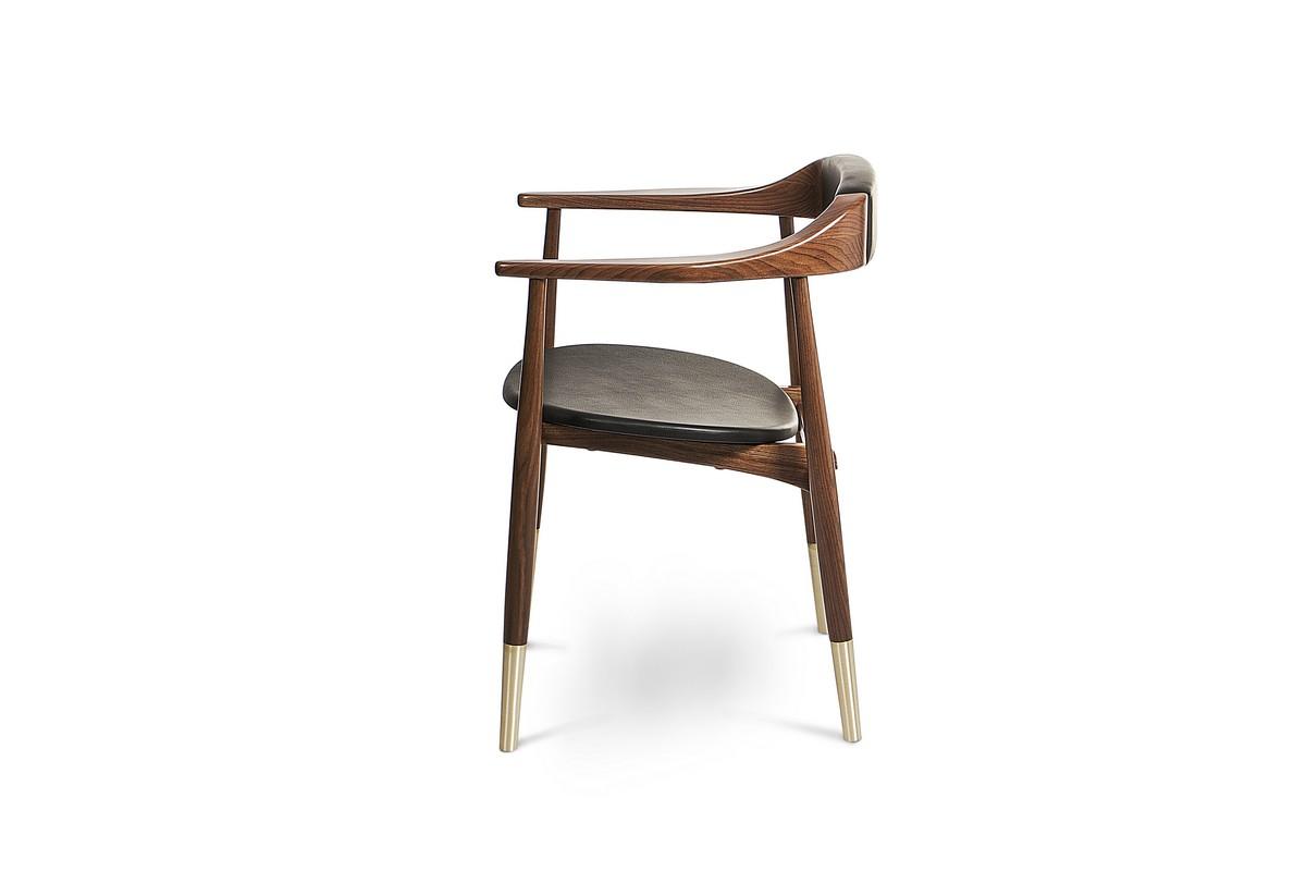 A Bit Classic, A Bit Modern: Perry Dining Chair By Essential Home dining chair A Bit Classic, A Bit Modern: Perry Dining Chair By Essential Home 3 10