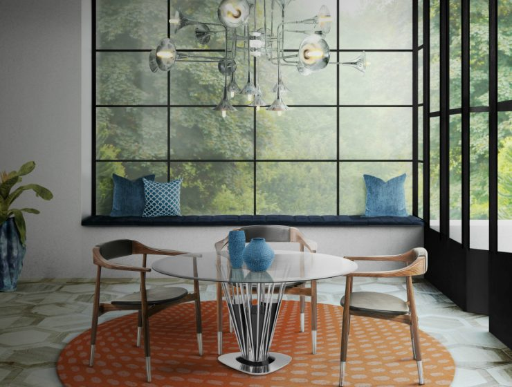 A Bit Classic, A Bit Modern: Perry Dining Chair By Essential Home