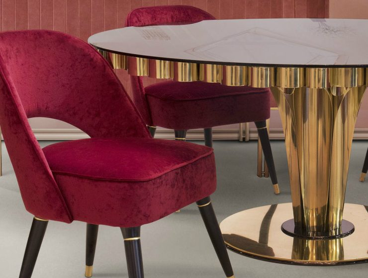 Collins Dining Chair: Velvet Never Goes Out Of Style