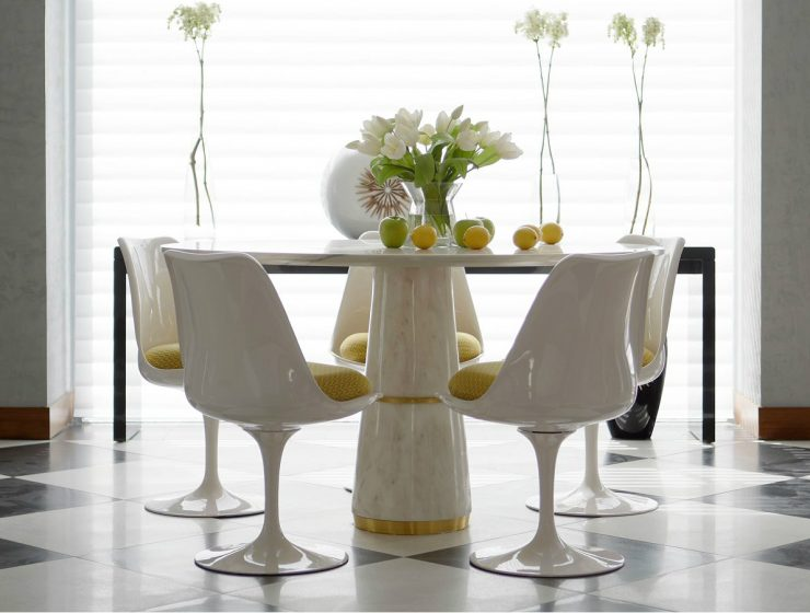 dining tables Top 5 Luxury Dining Tables By Brabbu featured 6 740x560