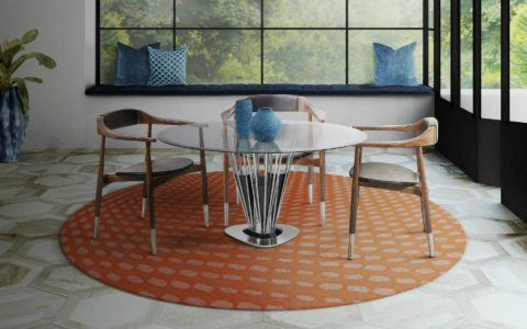 Winchester Dining Table: A Mid-century Take On Interior Design