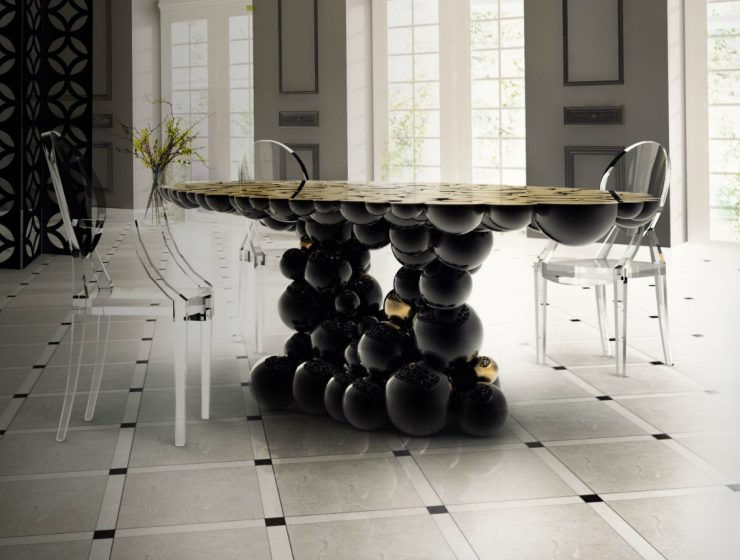 A Contemporary Dining Table That Will Make You Dream Forever
