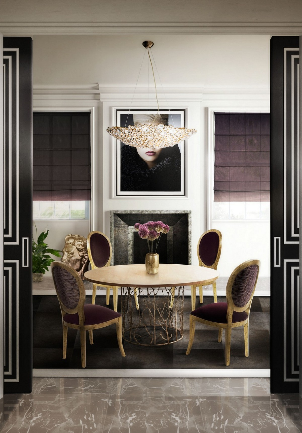 Enchanted Dining Table: Let Dining Rooms Shine Forever dining table Enchanted Dining Table: Let Dining Rooms Shine Forever 4