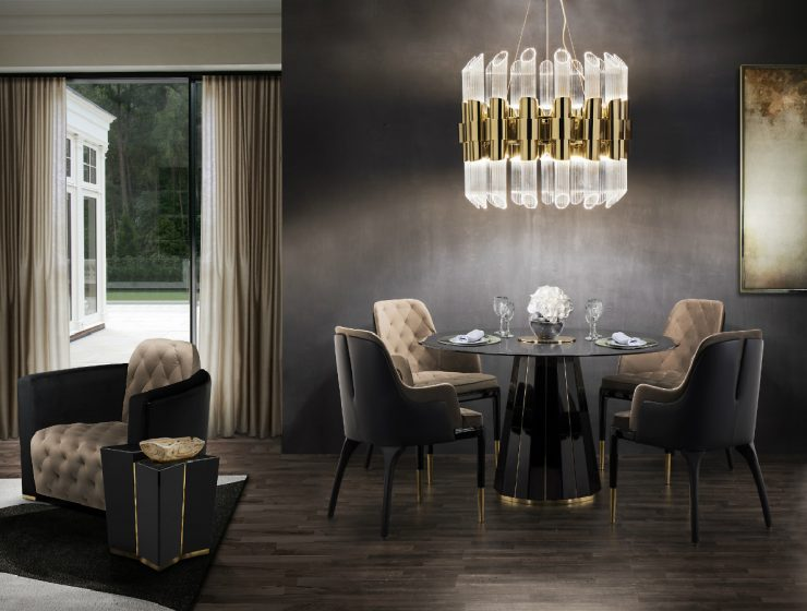 Dining Room Inspirations: The Best Sets dining room Dining Room Inspirations: The Best Sets darian dining table cover 02 edit feat 740x560