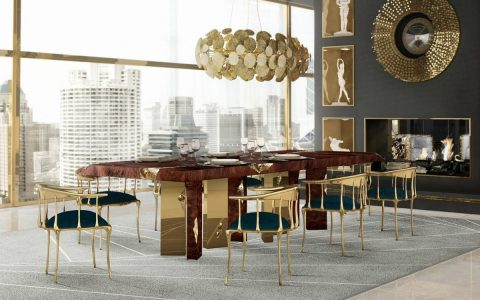Empire Dining Table: Across The Time-Stream, A Glorious Dining Room
