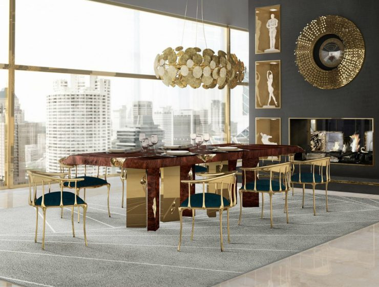 Empire Dining Table: Across The Time-Stream, A Glorious Dining Room dining table Empire Dining Table: Across The Time-Stream, A Glorious Dining Room featured 3 740x560