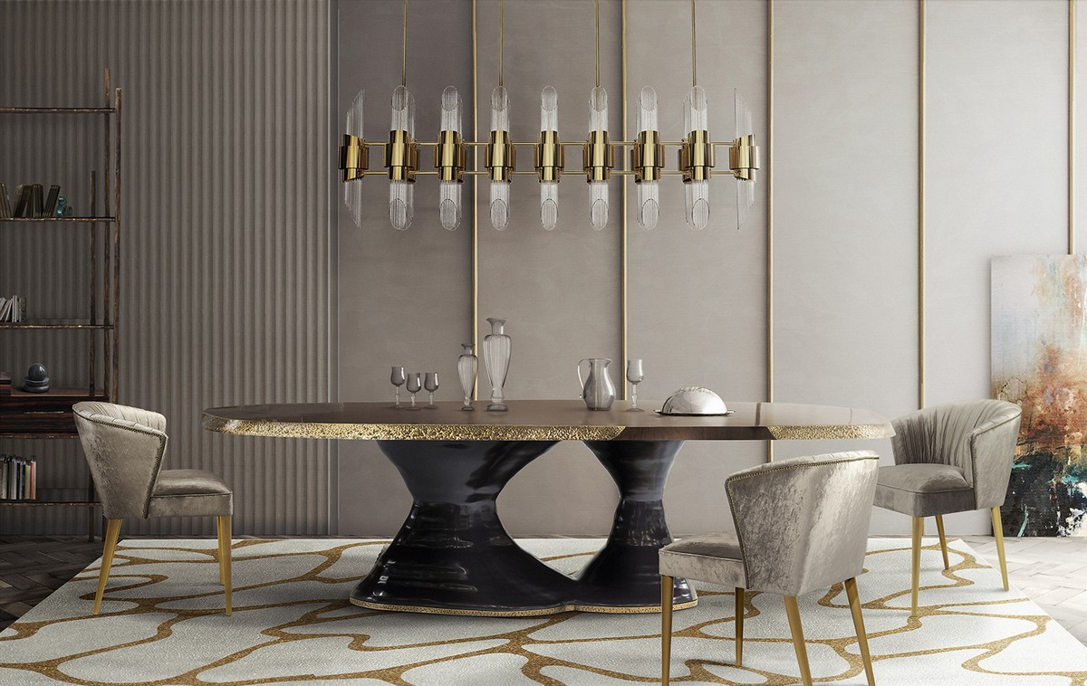 Artistic Dining Table Ideas For An Exquisite Room Decor