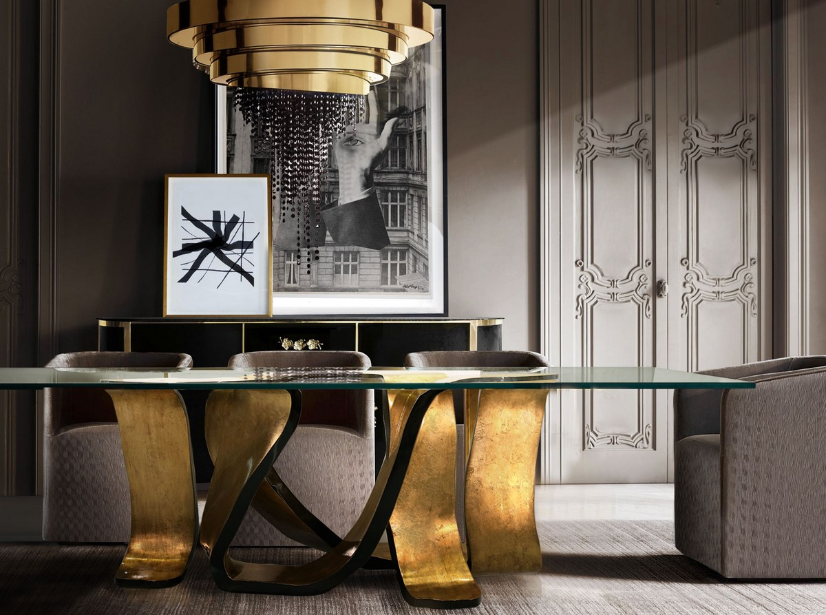Artistic Dining Table Ideas For An Exquisite Dining Room Decor dining table ideas Artistic Dining Table Ideas For An Exquisite Dining Room Decor ribbon