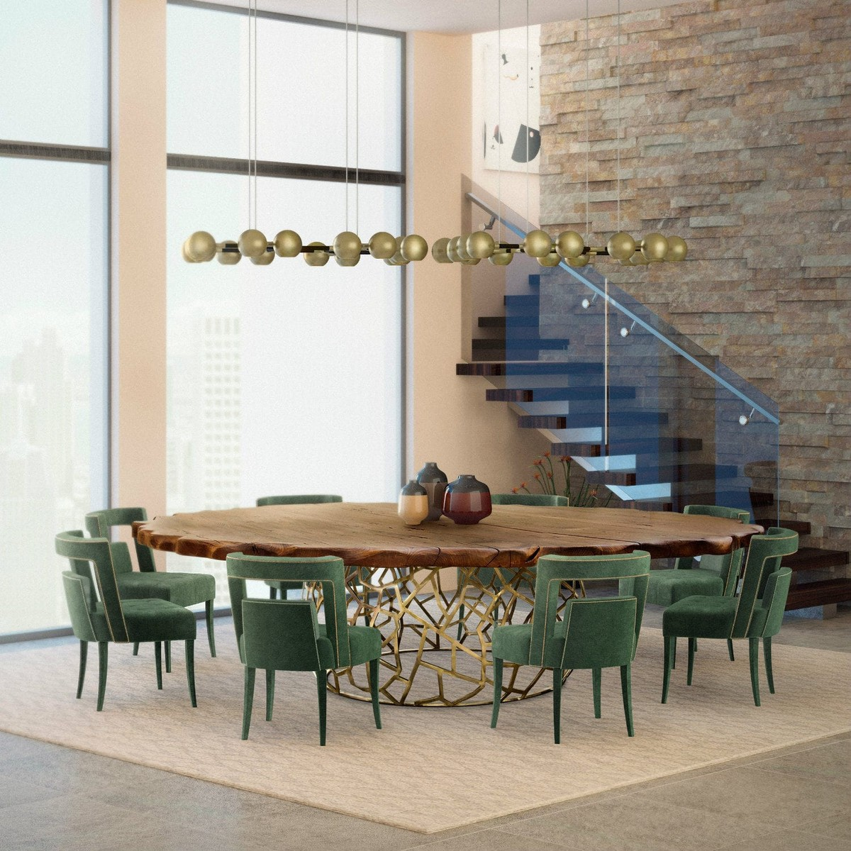 Dining Room Decor Ideas Modern Classic Dining Tables Covet House Blog