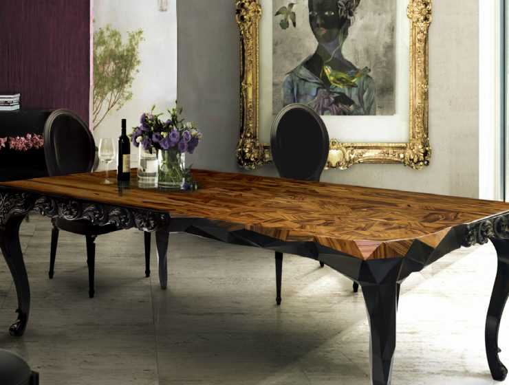 Royal Dining Table: Half Baroque, Half Victorian, Fully Inspiring