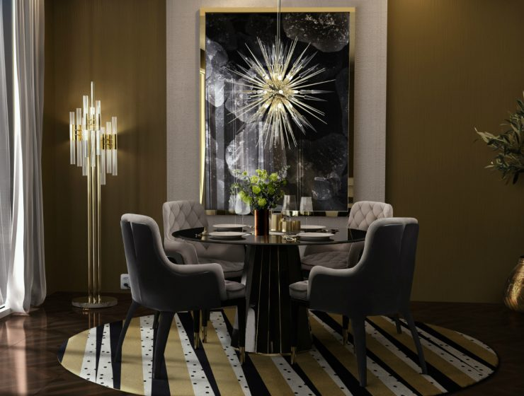Darian Dining Table: A Timeless Dining Room Ambiance