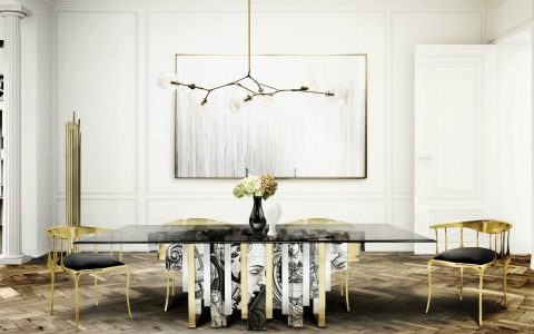 Dining Room Decor Ideas: Modern Classic Dining Tables modern classic dining tables Dining Room Decor Ideas: Modern Classic Dining Tables featured 480x300