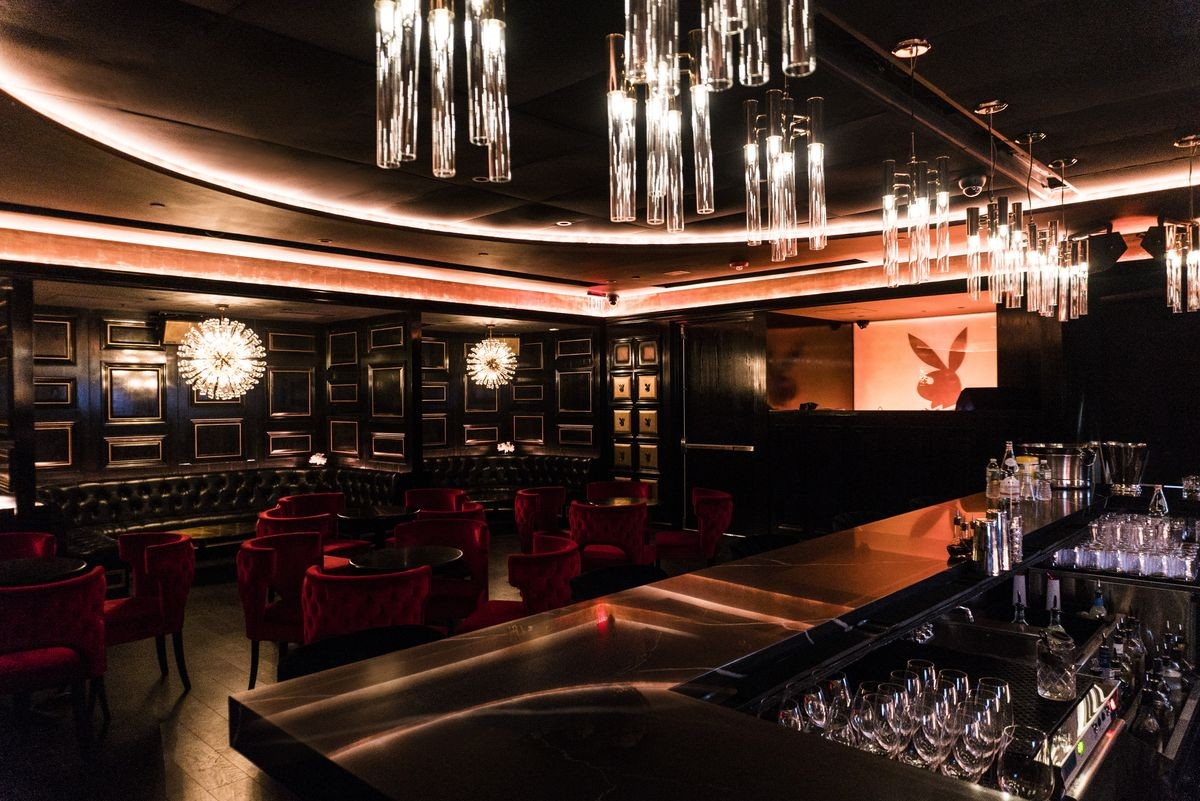 Exclusive Dining Room Chairs at The Playboy Club NYC