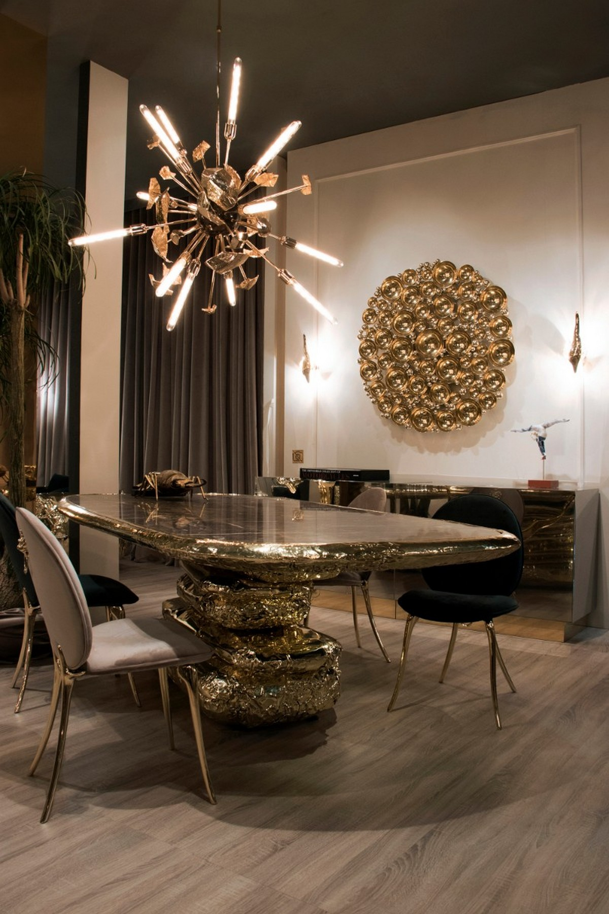 Artistic Dining Table Ideas For An Exquisite Dining Room Decor (Part II)  Artistic Dining Table Ideas For An Exquisite Dining Room Decor (Part II) bl6
