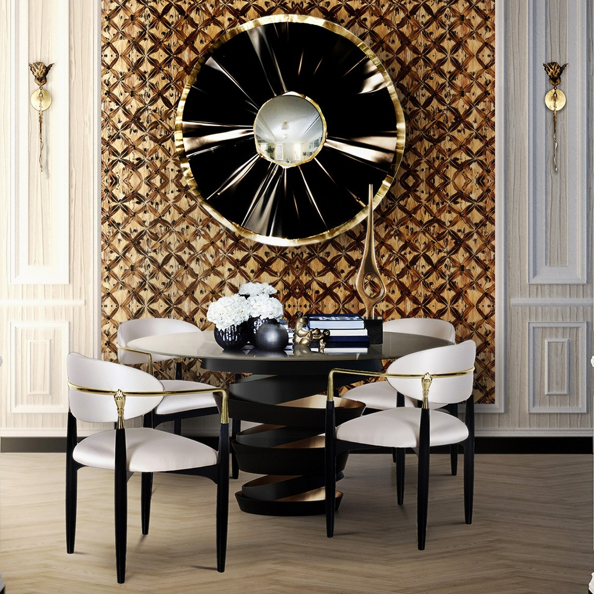 5 Modern Dining Table Designs You Shouldn't Miss modern dining table designs 5 Modern Dining Table Designs You Shouldn't Miss intuition2