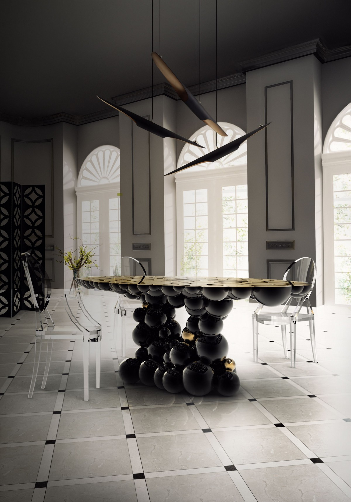 5 Modern Dining Table Designs You Shouldn't Miss modern dining table designs 5 Modern Dining Table Designs You Shouldn't Miss newton