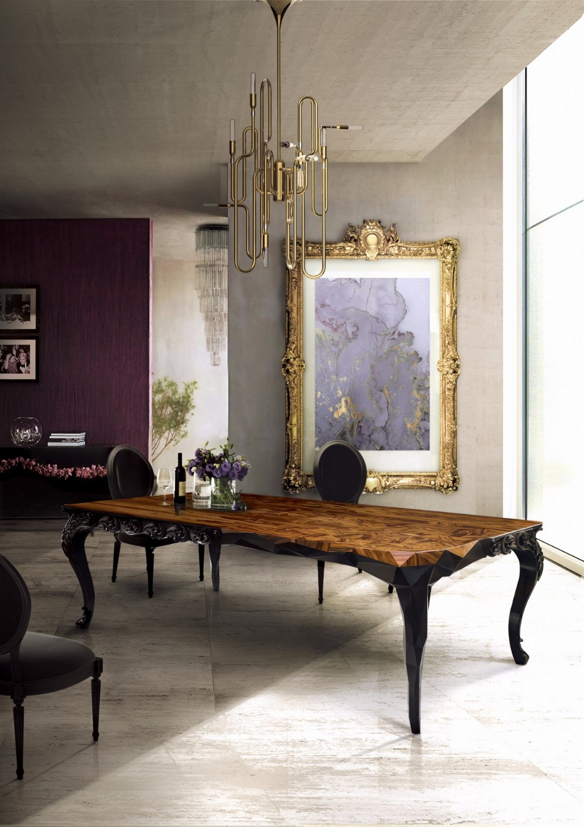 modern dining table designs 5 Modern Dining Table Designs You Shouldn't Miss royal2