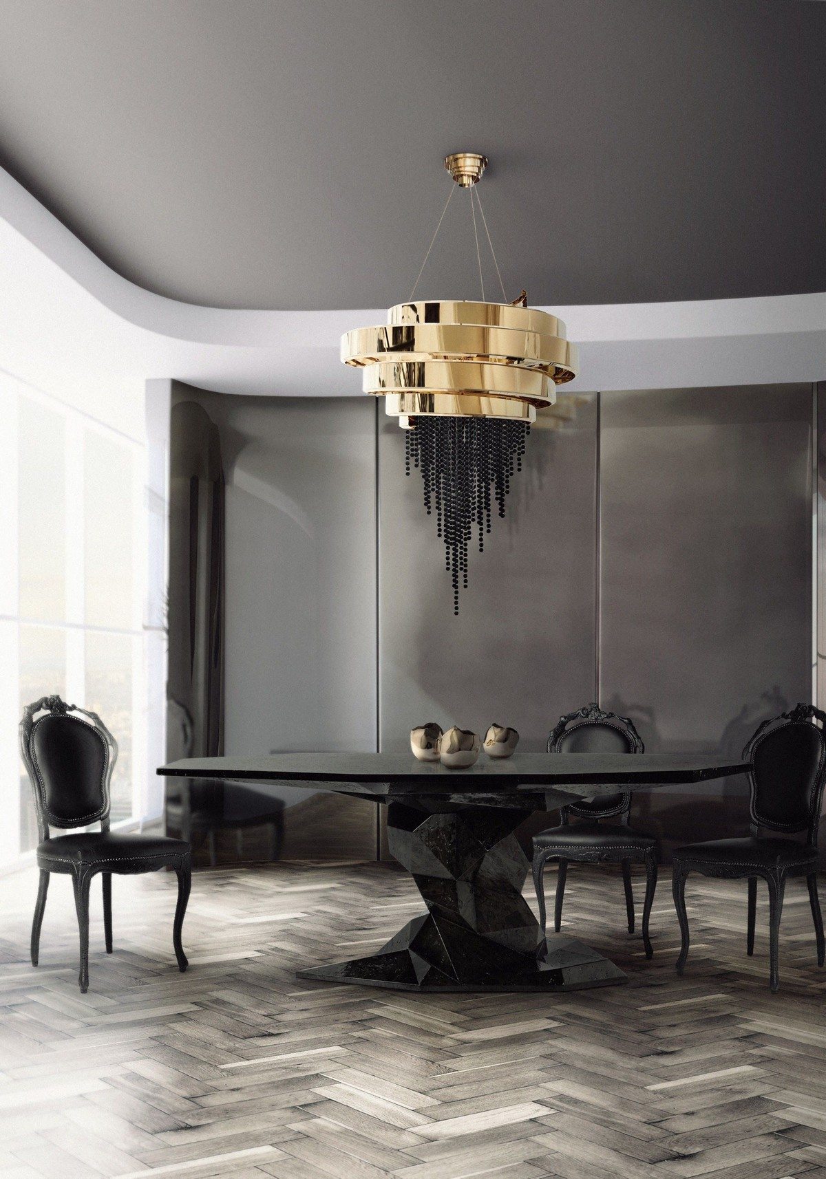 Curated Design: Contemporary Dining Room Ambiances contemporary dining room Curated Design: Contemporary Dining Room Ambiances 1 4
