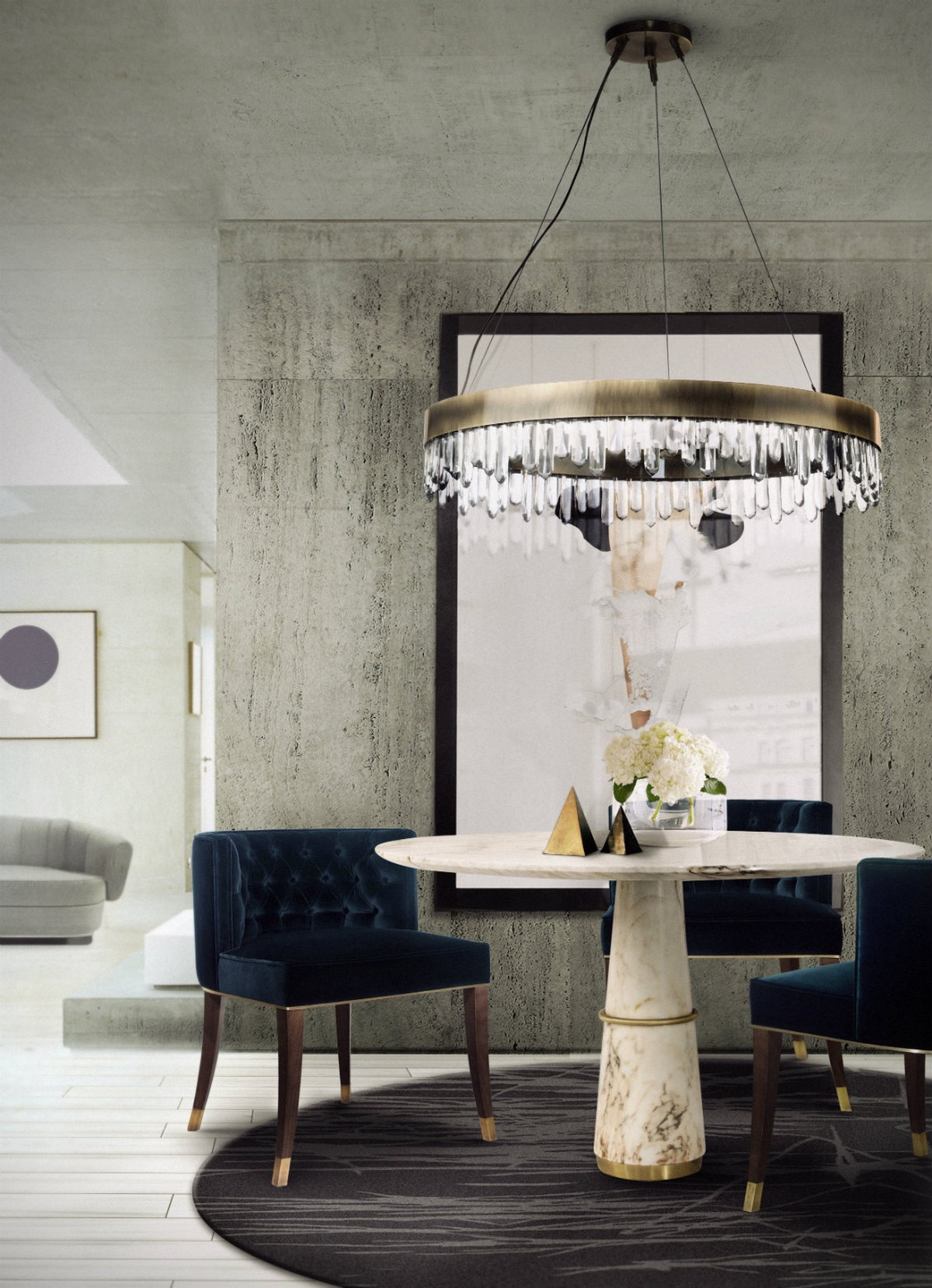 Agra Dining Table: Exclusive Dining Room Decor at Covet NYC dining room decor Agra Dining Table: Exclusive Dining Room Decor at Covet NYC 2 3