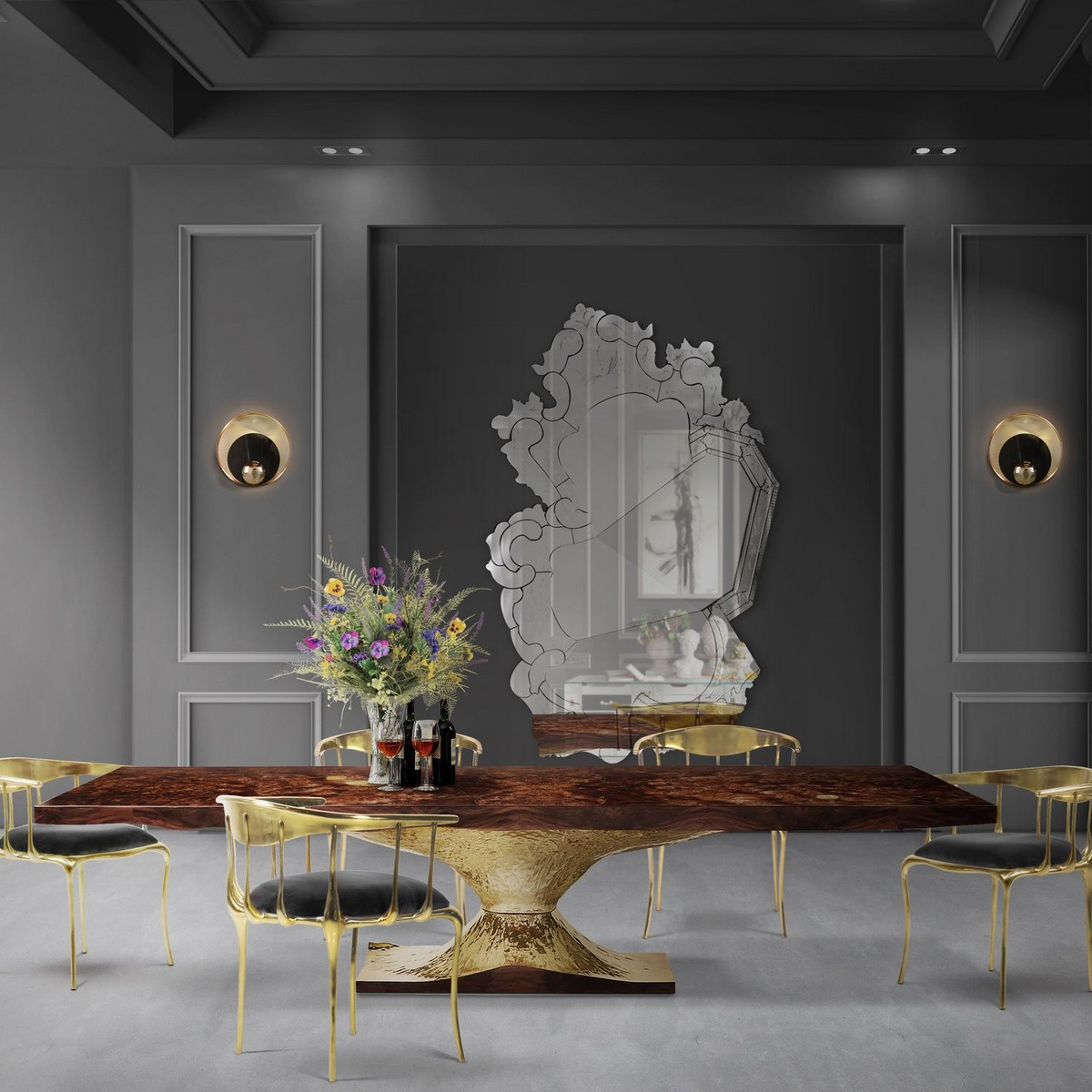 Curated Design: Contemporary Dining Room Ambiances contemporary dining room Curated Design: Contemporary Dining Room Ambiances 3 5