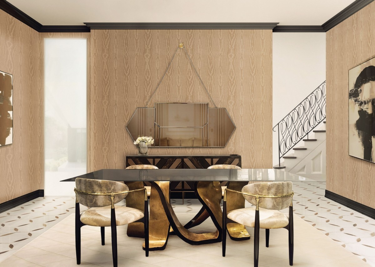 Curated Design: Contemporary Dining Room Ambiances contemporary dining room Curated Design: Contemporary Dining Room Ambiances 4 4