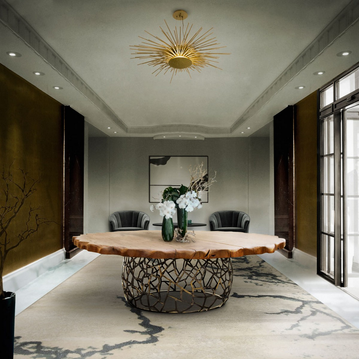 Curated Design: Contemporary Dining Room Ambiances contemporary dining room Curated Design: Contemporary Dining Room Ambiances 5 4