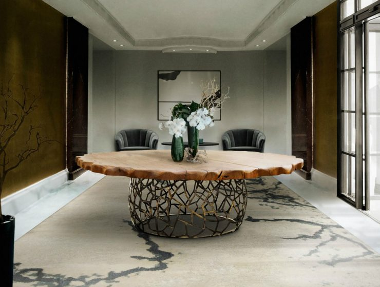 Curated Design: Contemporary Dining Room Ambiances contemporary dining room Curated Design: Contemporary Dining Room Ambiances featured 14 740x560