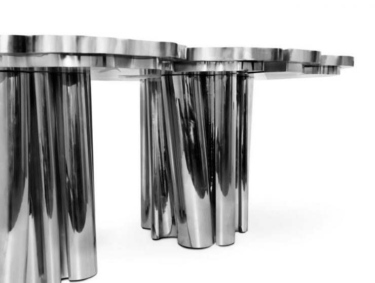 Fortuna Dining Table: The Silver Edition