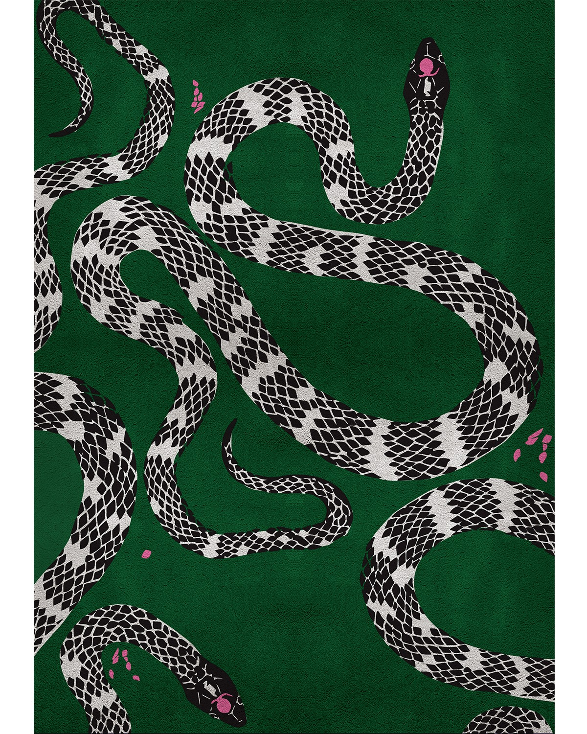 dining room rugs Top Dining Room Rugs You Will Fall In Love With (Part III) snake