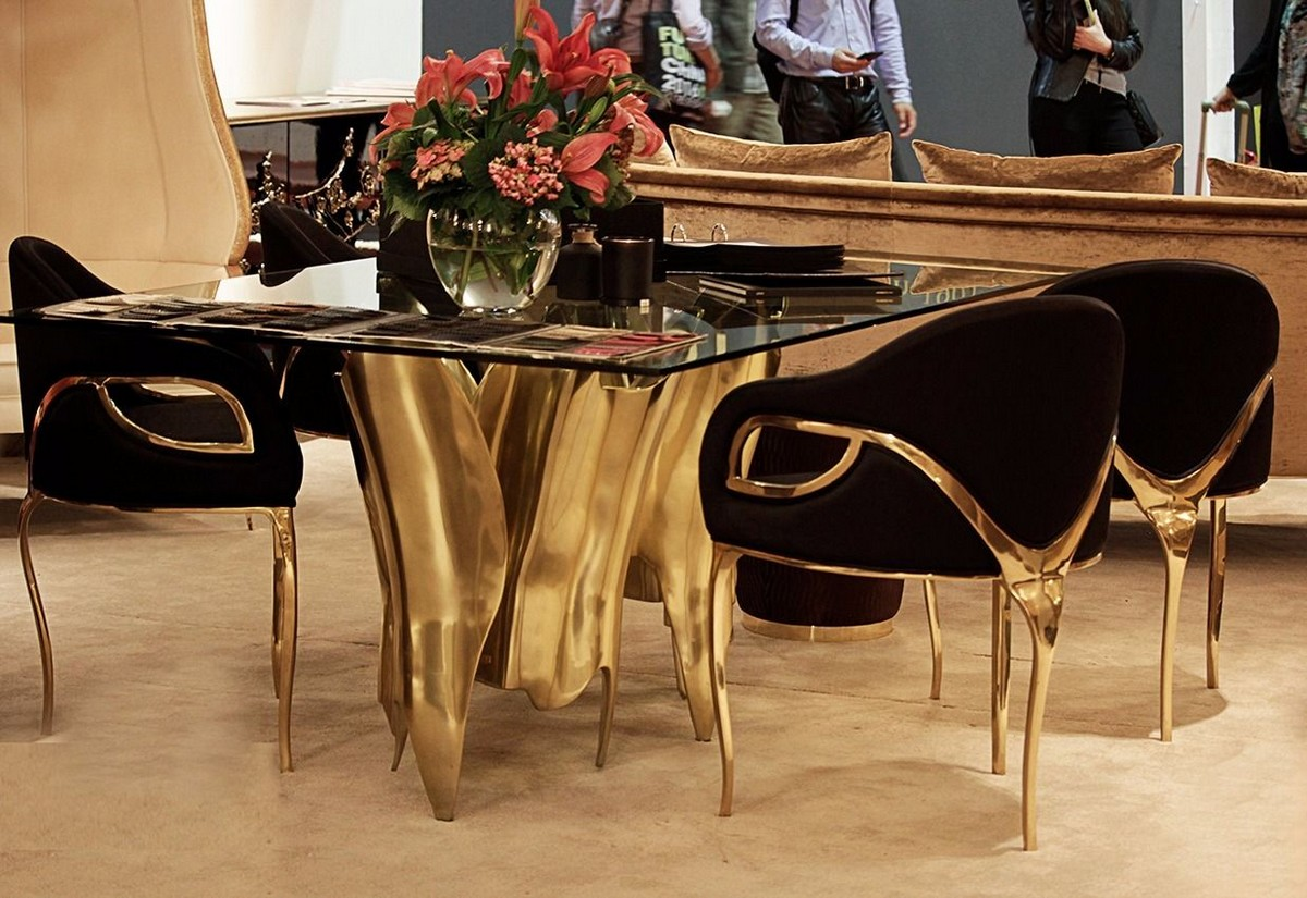 Obssedia Dining Table: Interior Design Has No Boundaries [object object] Exquisite Dining Tables To Level Up Your Home Decor 3 3