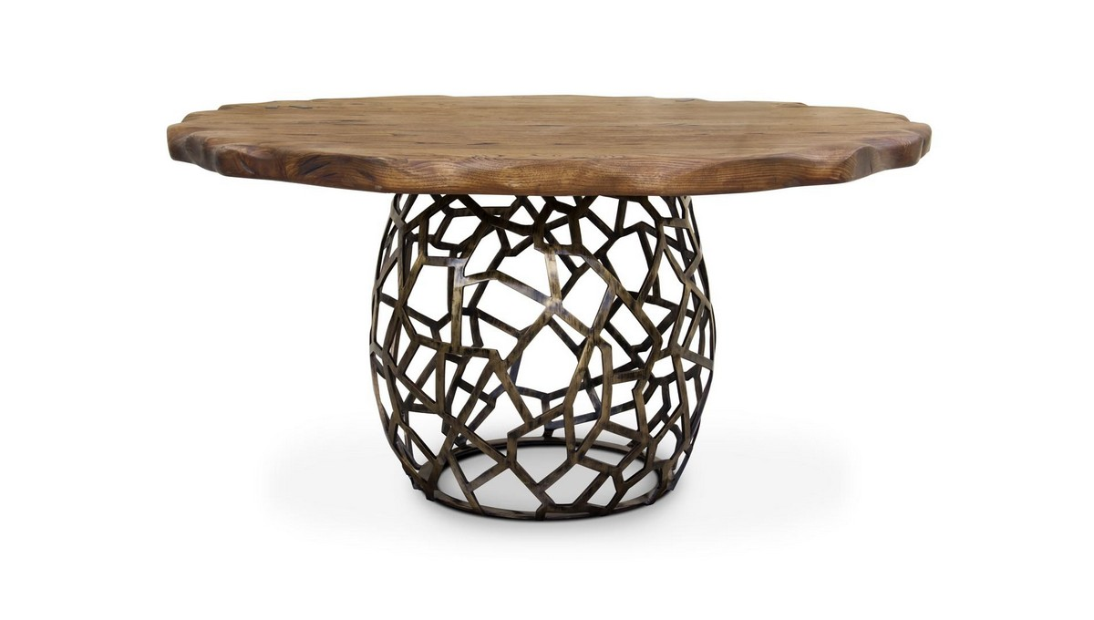 Trendy Dining Tables For 2019 (Part II) trendy dining tables Trendy Dining Tables For 2019 (Part II) apis