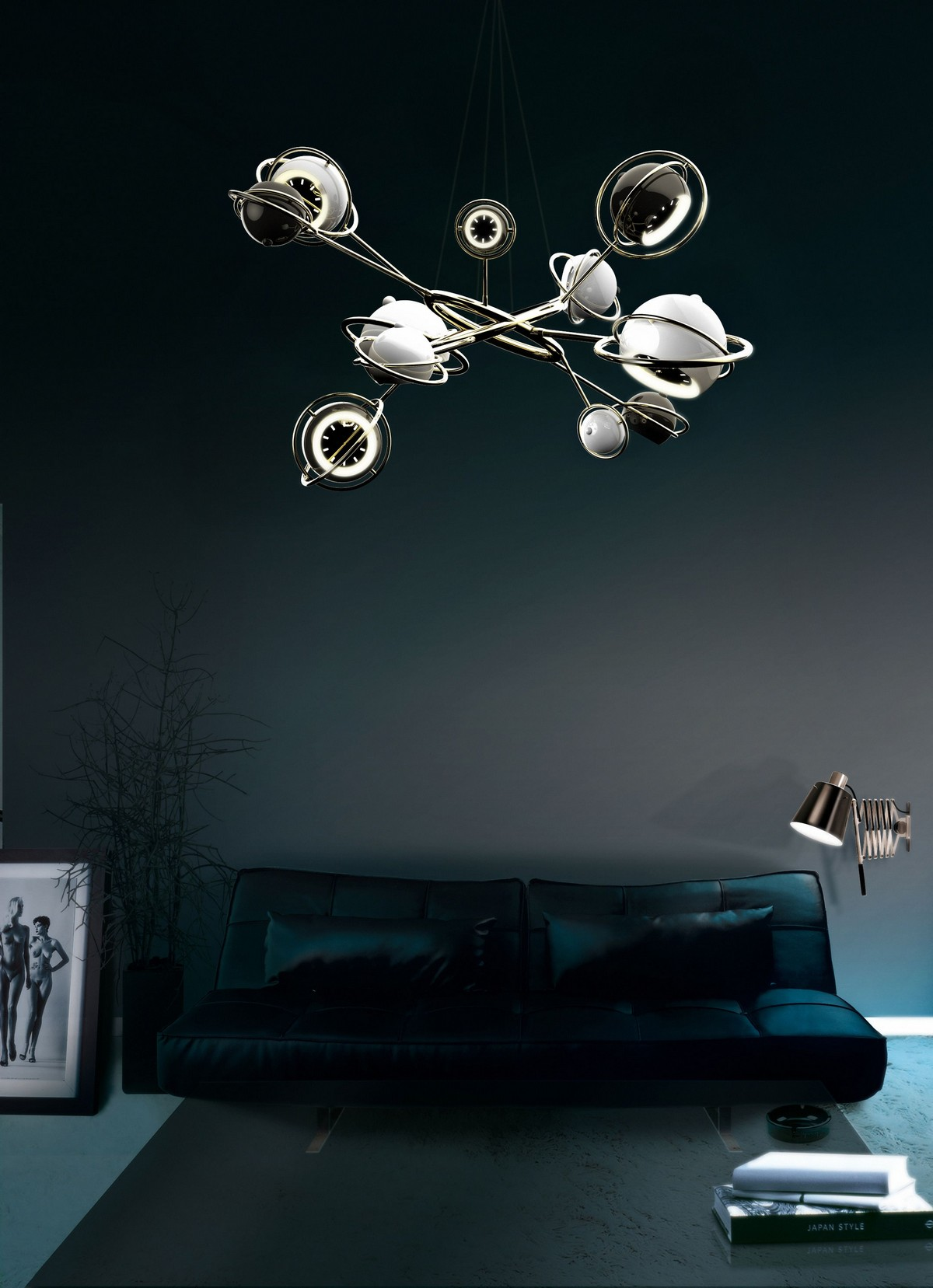 Exclusive Lighting Designs You Will Love exclusive lighting designs Exclusive Lighting Designs You Will Love cosmo suspension lamp
