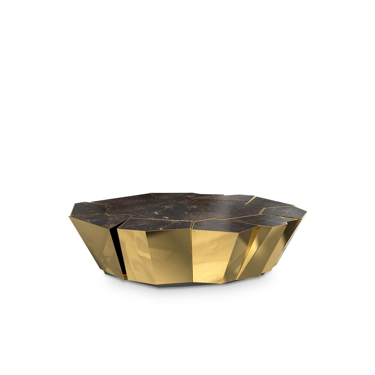 Top Golden Coffee Tables golden coffee tables Top Golden Coffee Tables crackle2