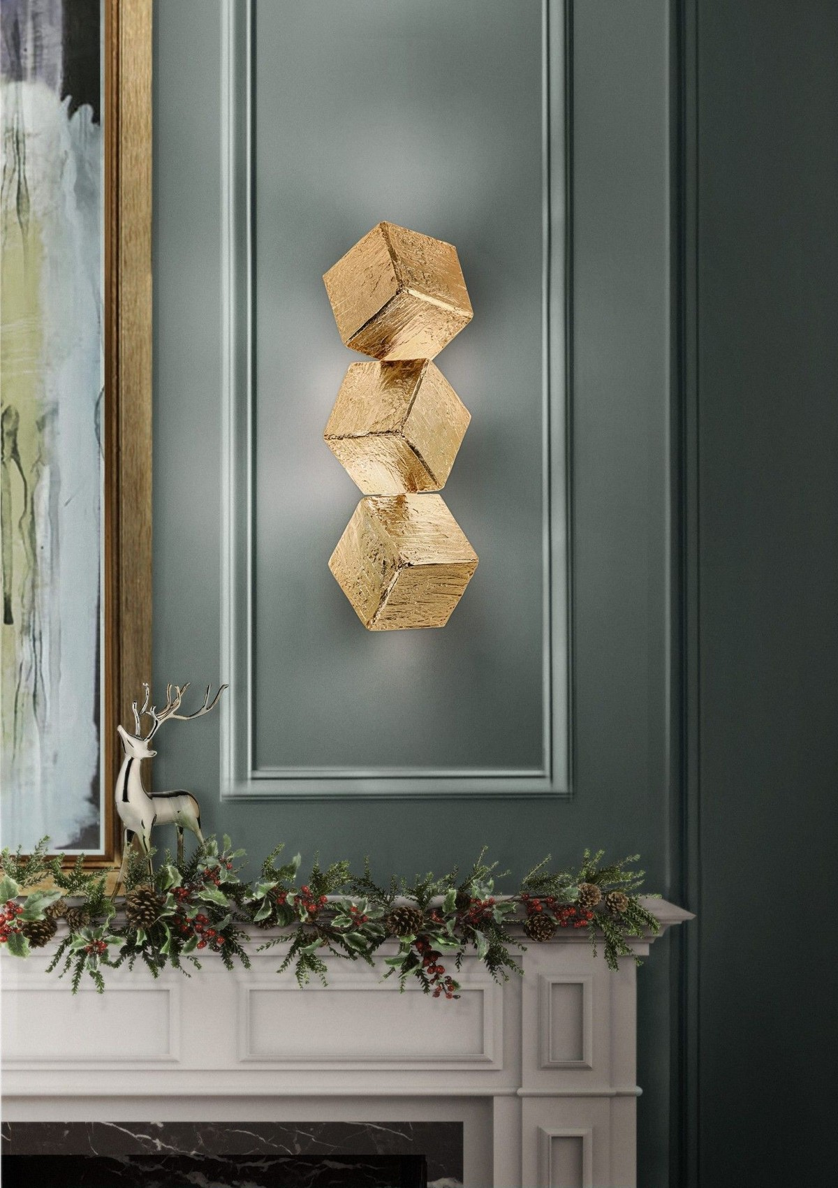 Exclusive Lighting Designs You Will Love exclusive lighting designs Exclusive Lighting Designs You Will Love cubic sconce