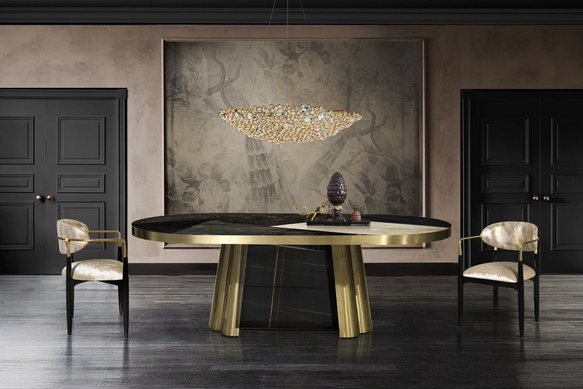 Trendy Dining Tables For 2019 (Part II) trendy dining tables Trendy Dining Tables For 2019 (Part II) decodiva2