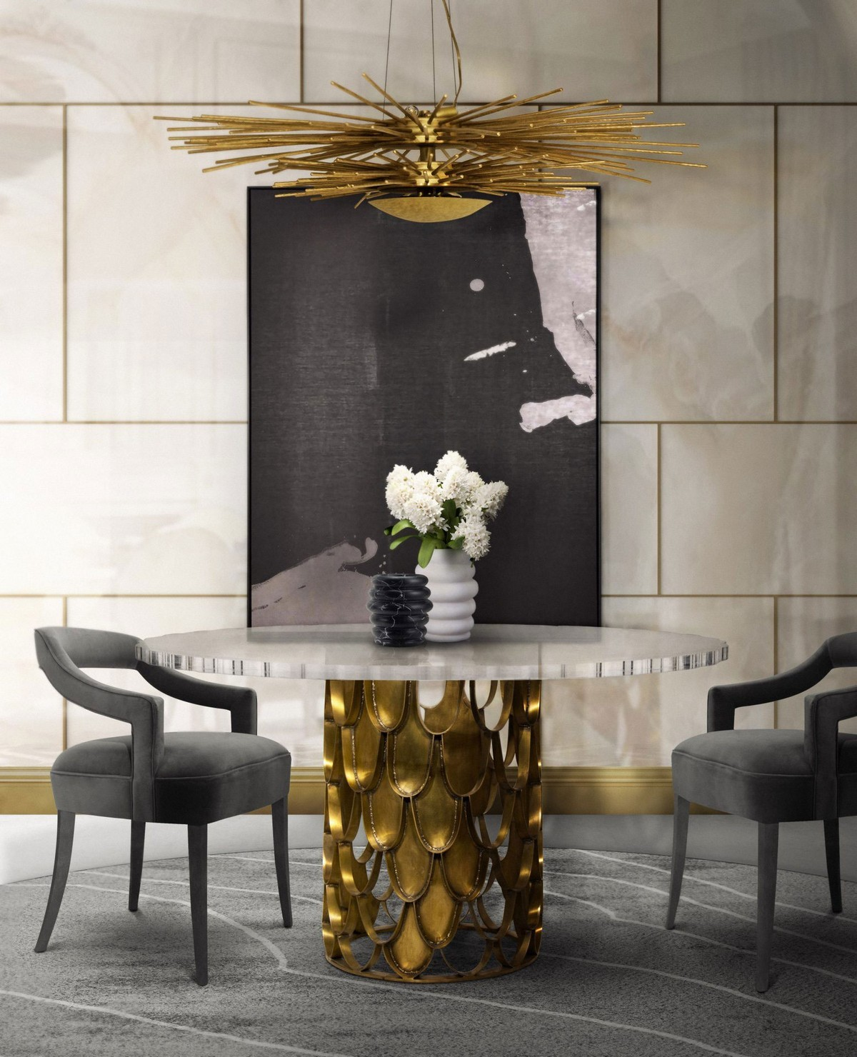 Exclusive Design: Top Round Dining Tables exclusive design Exclusive Design: Top Round Dining Tables koi2