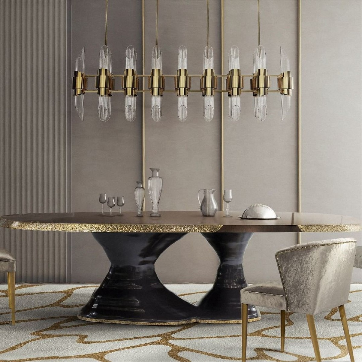 Trendy Dining Tables For 2019 (Part III) trendy dining tables Trendy Dining Tables For 2019 (Part III) plateau 1